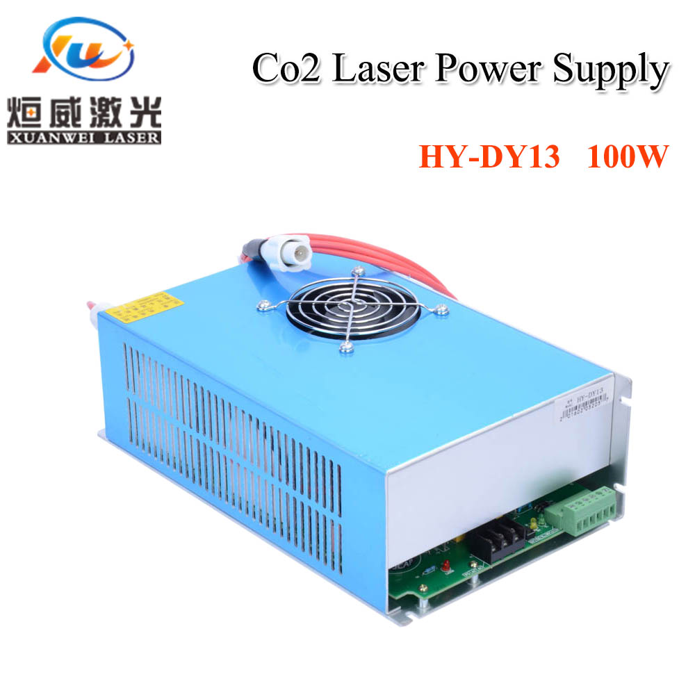 HY DY13 100W Co2 Laser Power Supply For RECI Z2/W2/S2 Co2 Laser Tube Engraving / Cutting Machine DY Series