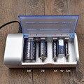 Venta caliente del envío libre de múltiples uso indicador led del cargador de batería para baterías de nimh nicd aa/aaa/sc/c/d/9 v batería del tamaño