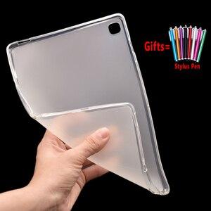 Funda suave de silicona para tableta ecológica para Samsung Galaxy Tab S5e 10,5 T720 T725 SM-T720 Coque Funda