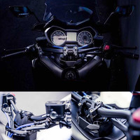 Modified Motorcycle direction fix handel lever bar clamp stable balance bracket CNC bracket set For Yamaha XMAX X MAX 250 300