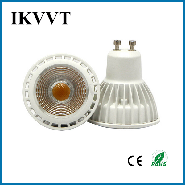 GU10 LED Spotlight AC220V 4W 6W 8W Led bombilla de interior súper - Iluminación LED