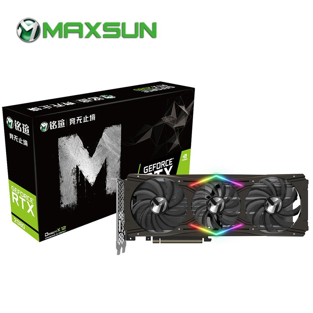 Maxsun Rtx 2080 8g Oyun Grafik Karti 256bit Gddr6  Mhz Nm