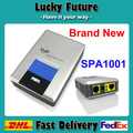 50pcs/lot by DHL fast shipping NEWEST unlock  LINKSYS SPA1001 VOIP stand-up voice gateway