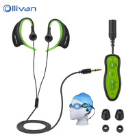 Ollivan IPX8 Waterproof Swimming 4G 8GB MP3 Player Underwater Diving Sport HIFI MP3 Music USB Player