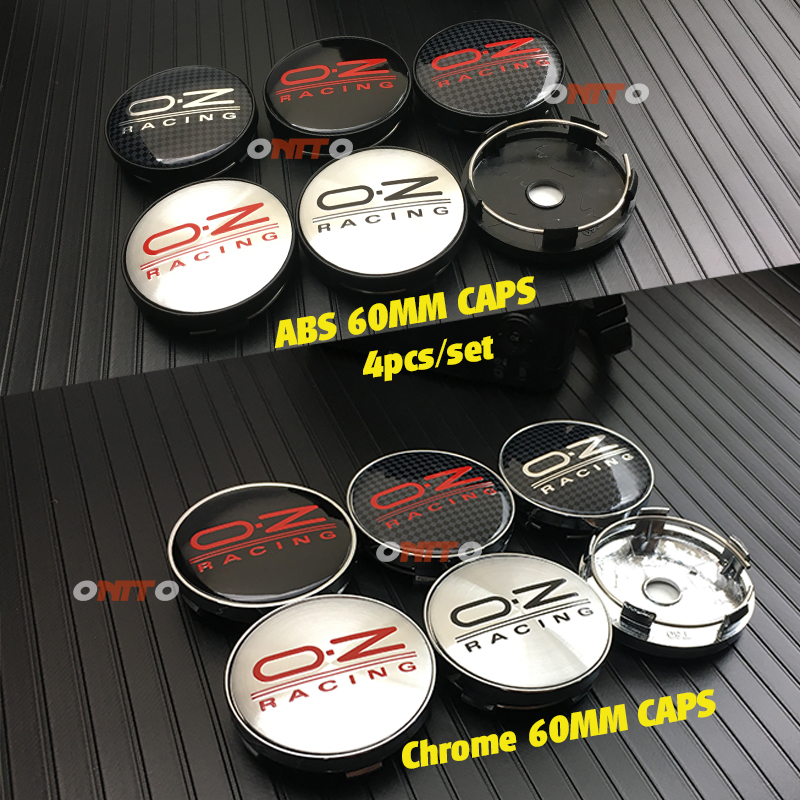 4pcs 56/60mm OZ Racing Car Badge Emblem Sticker Car Wheel Center Cover Cap Hub Rim for Octavia A5 Fabia Superb Auto Accessories4pcs 56/60mm OZ Racing Car Badge Emblem Sticker Car Wheel Center Cover Cap Hub Rim for Octavia A5 Fabia Superb Auto Accessories