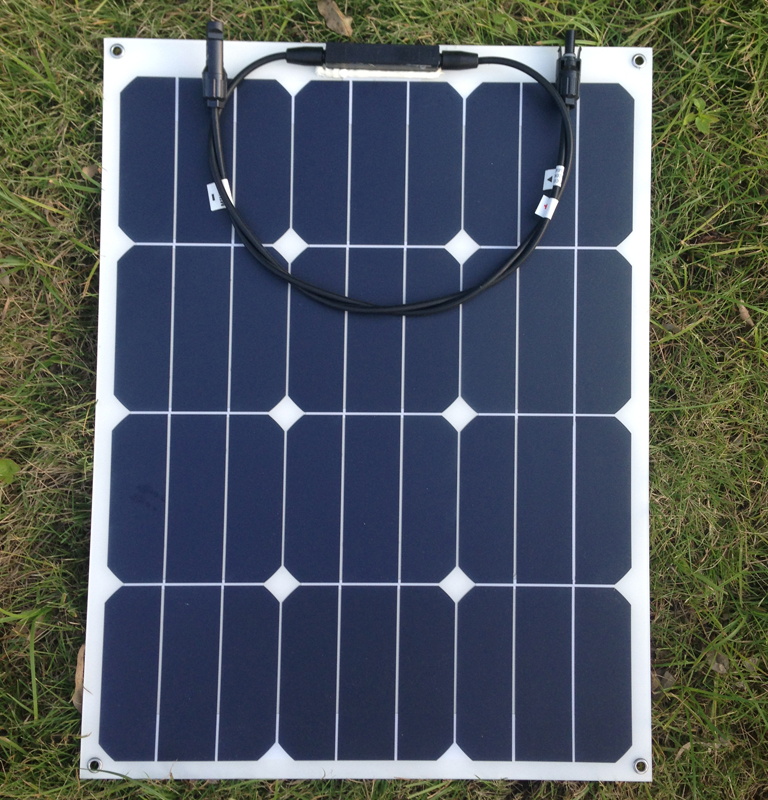 Sunpower flexible solar panel 40w monocrystalline semi flexible solar panel 40w solar cell 22 2 charging
