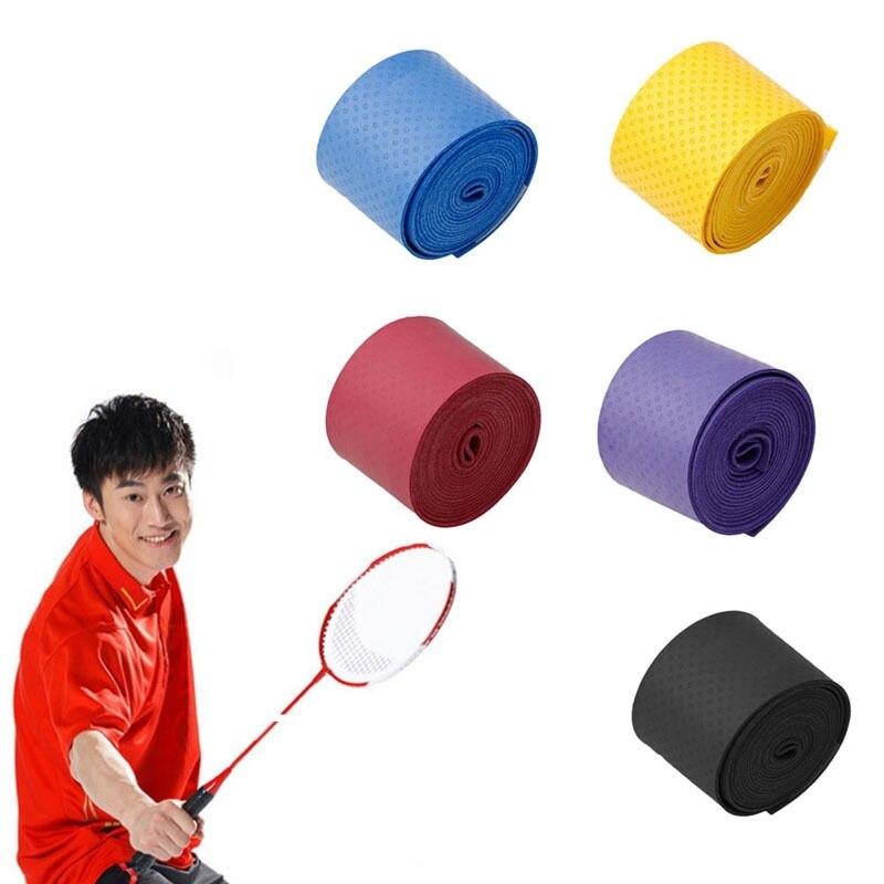Absorb Sweat Anti Slip Racket Bat Overgrip Roll Tennis Badminton Handle Tape TPO