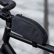 цена на Roswheel Essential Series 121468 Water Resistant Cycling Bike Top Tube Bag Bicycle Front Frame Pannier Pouch Carrier