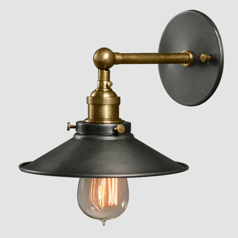 American vintage wall lamp indoor lighting bedside lamps wall lights for home diameter 22cm 110V ...