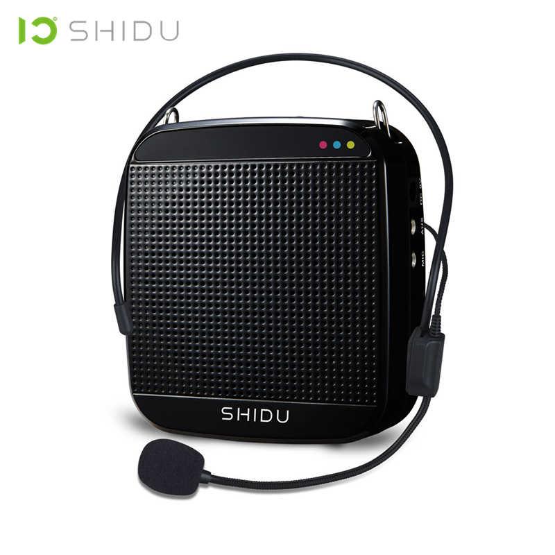 SHIDU проводной портативный усилитель голоса USB динамик полный спектр динамик s Lautsprecher для учителя гид Йога инструкторы S512