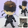 Nendoroid Metal Gear Solid Snake 447 de Dibujos Animados Juguetes de PVC Figura de Acción Modelo Doll Regalo