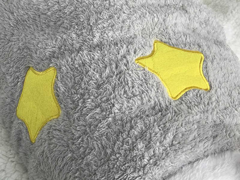 [MPK] büyük göğüs köpek yelek, 66cm göğüs çevre köpek sonbahar giyim, mercan polar köpek giysileri yıldız, köpek kazak