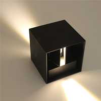 IP65 Cube Adjustable Surface Mounted Outdoor Led Lighting Led Outdoor Wall Light Up Down Led Wall