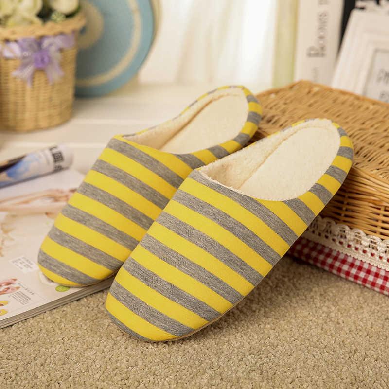 2018 kadın terlik kış kadın ev ayakkabıları yumuşak peluş pamuk sevimli terlik kat terlik çiftler için ayakkabılar ev kürklü terlik