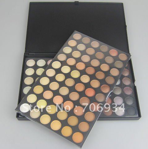 Pro 120 Nude Eyeshadow Palette Eye Shadow Makeup Eyeshadow suite 3# 1/box