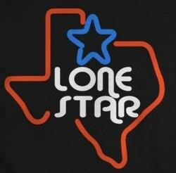 Niestandardowe Lone Star szkło znak światła Neon Beer Bar