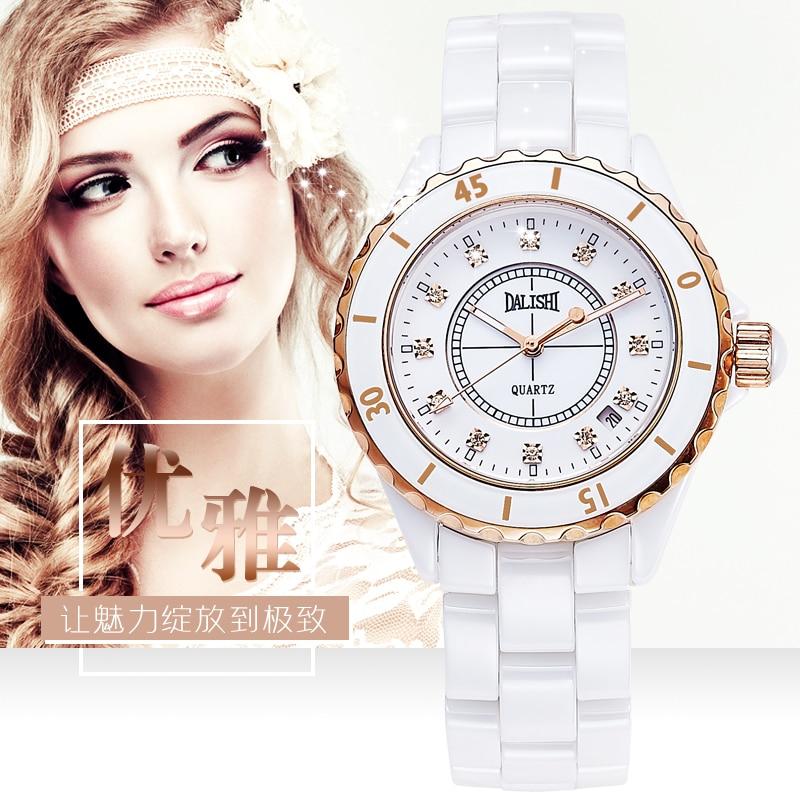 2017 New Luxury Brand  Women Ceramic Watch Fashion Geneva Female Watches Lady Quartz Wrist watches relojes mujer