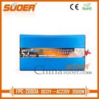 Suoer 12v 220v pure sine wave inverter 2000w power inverter(FPC 2000A)