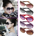 Women New Fashion Retro Sunglasses Multicolor Vintage Oversized Frame Eyewear Outdoor Goggles Elegant UV Protection Spectacle