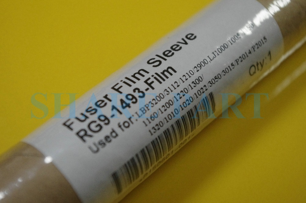 1x Genuine RG9 1493 Film with grease for HP1010 1022 1320 m1005 3300 p1008 1022 1018