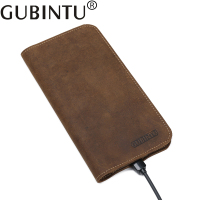 Man Cowhide Wallet Male Genuine Leather Purse Men Credit Card Holders Mobile Phone Wallets Carteras Bolsa