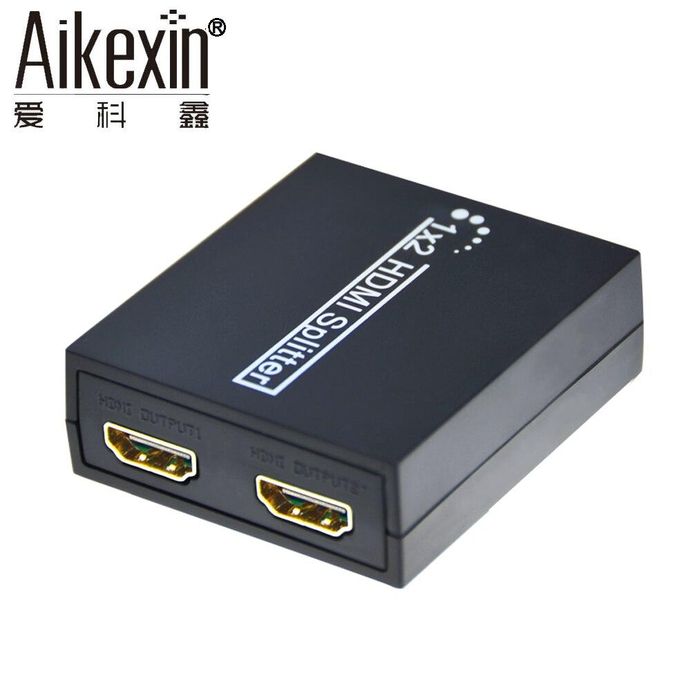 Aikexin 2 Way Splitter Hdmi Mini Hd 1080 P Audio Video 12v 8211 32 V 5a Power Supply By Lm338 1x2 Conmutador Split 1 En Para La Tvad