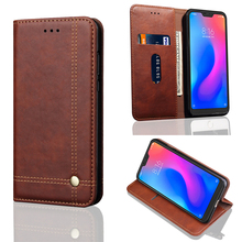 New Design Flip Leather Phone Case Cover For Xiaomi Mi A2 Lite Card Holder A2Lite for