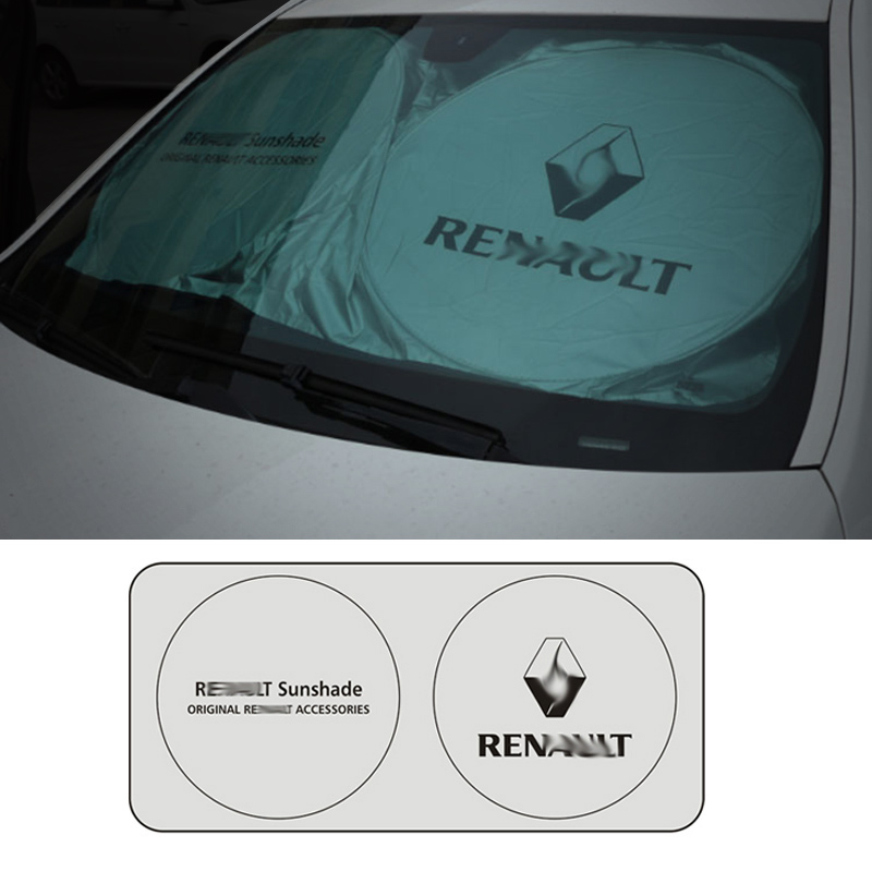 Image 4 - Car Windshield Cover Universal Car Windshield Rain Ice Snow Cover Sun Shade Sunshade Protection Auto Car SUV Cover for Renault-in Windshield Sunshades from Automobiles & Motorcycles
