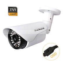 CCTV 1/2.8″ 1080P 2.0MP 3.6mm Lens Security HD-TVI Bullet Camera OSD Menu