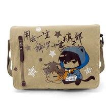Película Tomb notas Cosplay Anime alrededor de la bolsa de Mensajero de viaje de regalo de cumpleaños hombres y mujeres bolsa de hombro