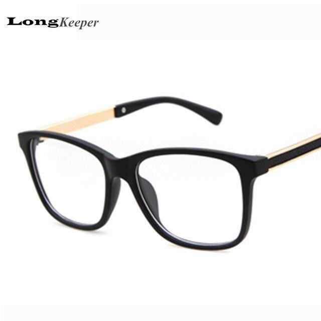 e4c98d67e41 New Arrived Square Frame Glasses Men Eyeglasses Computer Women Optical Eye Glasses  Myopic Prescription gafas de