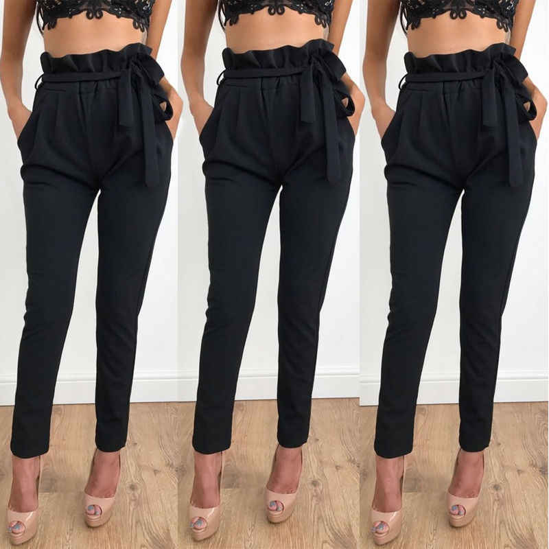 32ee29db26 Detail Feedback Questions about 2018 NEW Women High Waist Slim ...