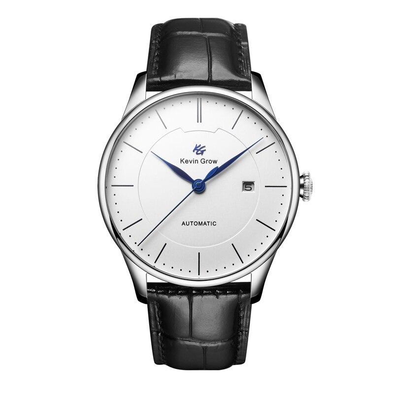 Relojes mecánicos de acero inoxidable movimiento automático miyota japonés nueva llegada reloj de pulsera para hombre-in Relojes mecánicos from Relojes de pulsera    1