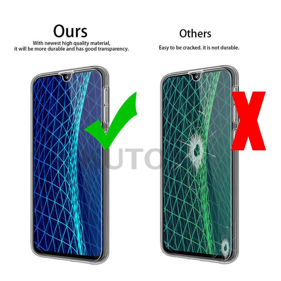 Funda completa para Samsung Galaxy A7 2018 silicona 360 A9 A8 A6 Plus PC para Samsung A50 A60 A20e a70 A80 A40 A30 A10 teléfono caso