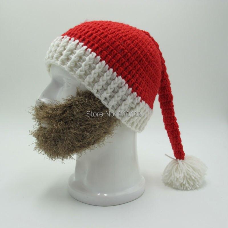 6e9183ae165 Aliexpress.com   Buy Mr.Kooky Novelty Beard Santa Claus Beanies Men s  Women s Funny Christmas Hats Xmas Party Mask Handmade Winter Warm Gorros  Gifts from ...