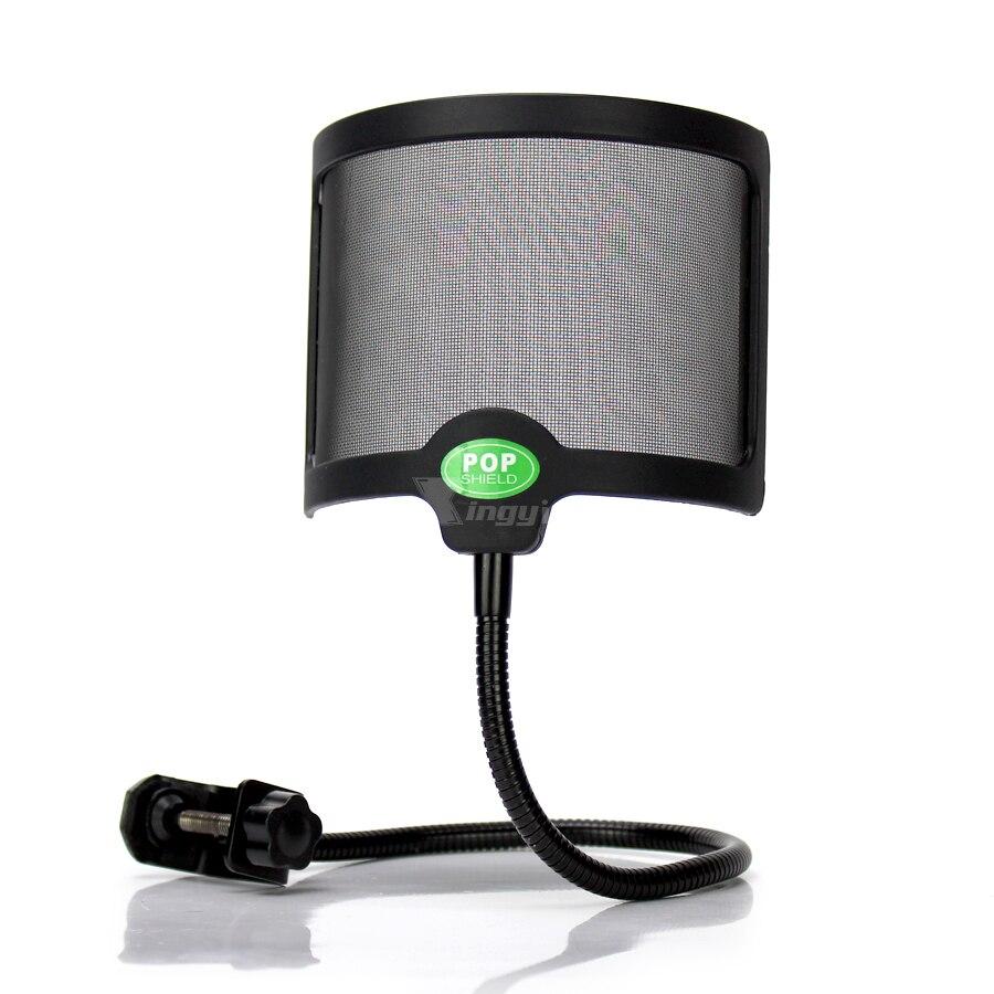 Mikrofon-zubehör Ausdrucksvoll Universal Shock Mount Mic Stand Pop Filter Aufnahmemikrofon Windschutzscheibe Schild Für Broadcasting Studio Sm27 Sm7b Ksm42 Ksm32 Tragbares Audio & Video
