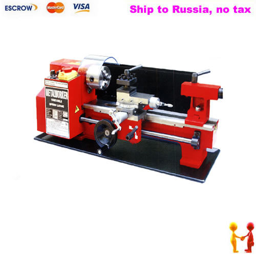 Freeshipping to Russia, no tax. Minitype C2 mini lathe CJ9518-C2 Household lathe, multi-function CNC lathe no tax to russia 3d cnc woodworking lathe work area 300 400mm with usb port and mach3 remote control