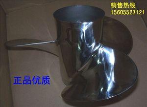 Image 4 - Бесплатная доставка Пропеллер из нержавеющей стали для подвесного мотора Yamaha Honda Hidea 2 тактный 40 55 л.с., 4 тактный 60 л.с. 13 дюймов 11 1/8 * 13 G