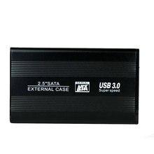Алюминиевый сплав внешний HDD Caddy 2,5 дюймов SATA интерфейс USB 3,0 скорость 6 ГБ/сек. SSD чехол для жесткого диска