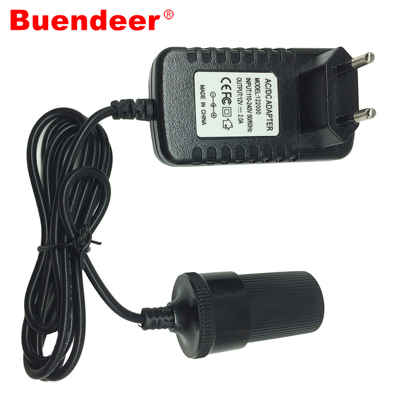 Buendeer Transformer Car-Cigarette-Lighter Socket-Adapter Power-Switch-Supply Car-Accessories