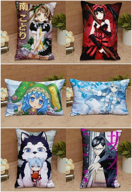 Japanese Anime Custom Made DIY Hugging Body Pillow Cover Case Two Sides Pillow Cases Personalized dropshipping wholesaler