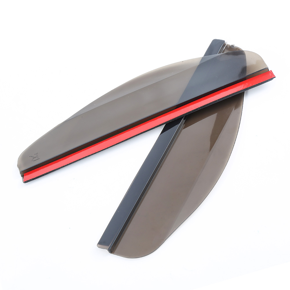 Pair of Rear View Side Mirror Rain Board Sun Visor Shade Shield For Car Truck