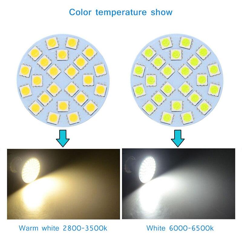 10Pcs 110/220V LED Corn Light Bulb  24LED SMD5050 480Lm White/Warm White Lamp Head CLH@8 new corn bulb e27 9 11 12 14w 220v pure warm white smd 5050 44 52 60 64 led spot light bulb lamp flat tube