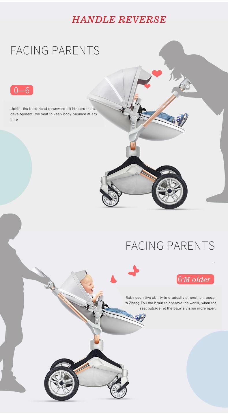 graus, COURO pu bebê carrinho de criança,