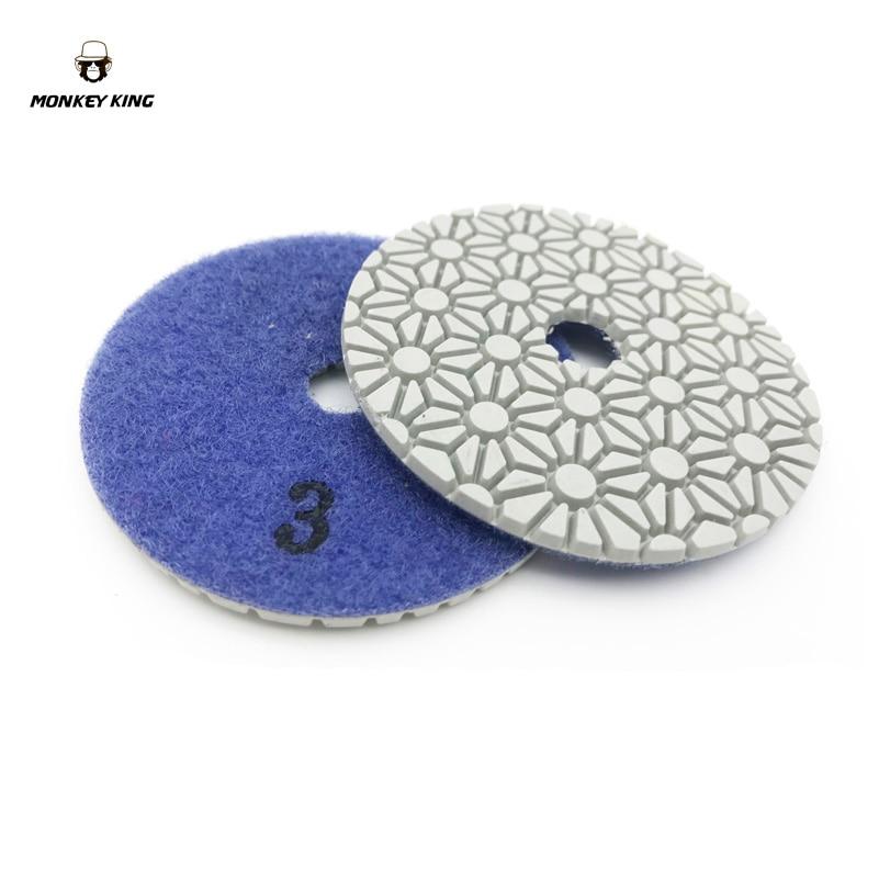 Dischi abrasivi diamantati per lucidare a secco / a secco dischi - Utensili elettrici - Fotografia 5