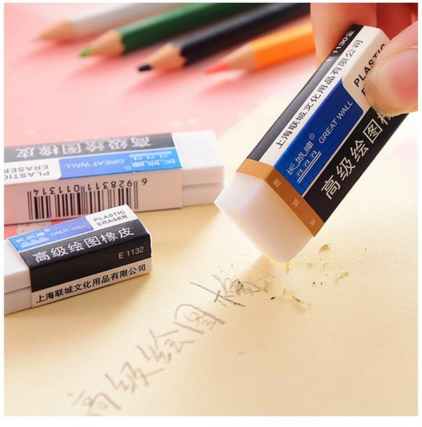 Advanced Drawing High Quality Eraser Old Style Wipe Away Without Leaving A Trace For Student Stationery