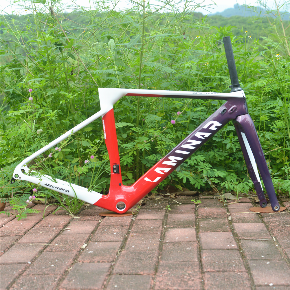 LAMINAR AERO FLOW High Rigidity Carbon Fiber Disc Brake ROAD Frame UCI Authentication
