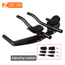 ZNIINO NO LOGO TT handlebar bike parts Cycling bicycle accessories new full carbon road handlebar rest bar ends 31.8mm 638g
