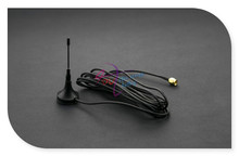 DFRobot 100 Genuine GSM Antenna 3m 900 1800MHz 2 5dBi 50ohm SMA Interface with Magnetic Base