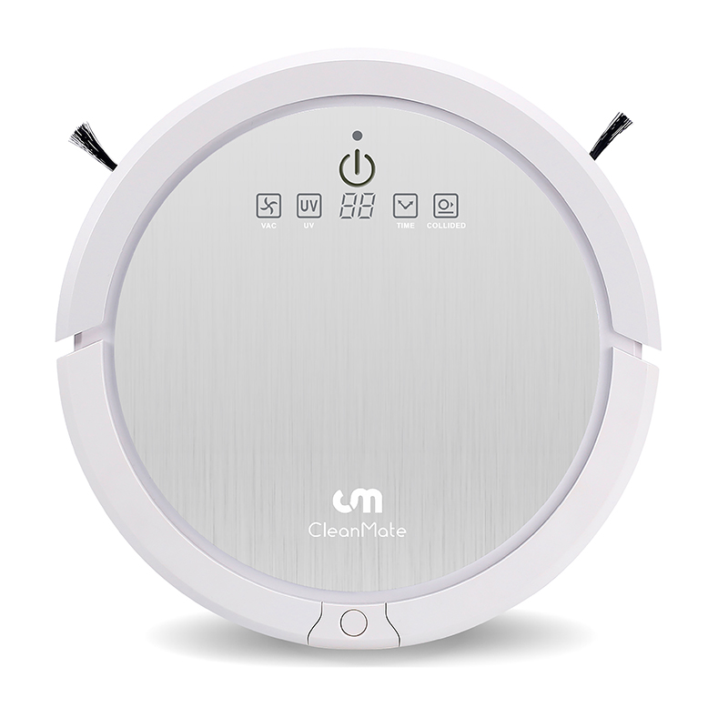 new taiwan cleanmate robot vacuum cleaner ,lower noise ,patent rolling mopping , strong sunction lower noise lower dens lower dens escape from evil